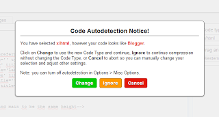 Code Autodetection Notice - Tokotua